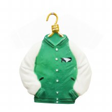 UNIVERSITY OF NORTH DAKOTA VARSITY JACKET ORNAMENT