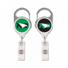 UNIVERSITY OF NORTH DAKOTA RETRACTABLE BADGE HOLDER
