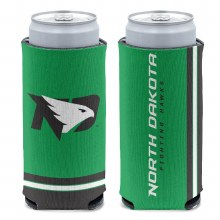 UNIVERSITY OF NORTH DAKOTA FIGHTING HAWKS SLIM CAN COOLER