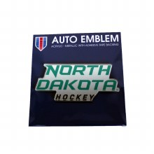 UNIVERSITY OF NORTH DAKOTA HOCKEY AUTO EMBLEM