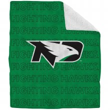 UNIVERSITY OF NORTH DAKOTA FIGHTING HAWKS ECHO SHERPA THROW