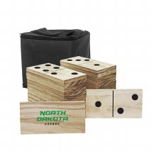UNIVERSITY OF NORTH DAKOTA HOCKEY YARD DOMINOES GAME