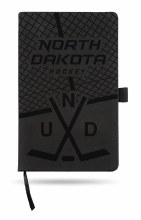 UNIVERSITY OF NORTH DAKOTA HOCKEY LEATHER NOTEPAD