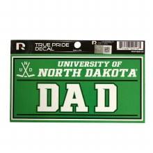 UNIVERSITY OF NORTH DAKOTA DAD DECAL