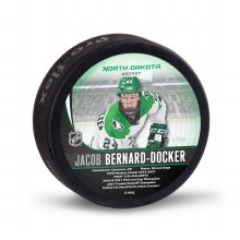 UNIVERSITY OF NORTH DAKOTA HOCKEY JACOB BERNARD-DOCKER ALUMNI PUCK