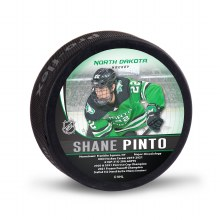 UNIVERSITY OF NORTH DAKOTA HOCKEY SHANE PINTO ALUMNI PUCK