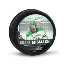 UNIVERSITY OF NORTH DAKOTA HOCKEY GRANT MISMASH ALUMNI PUCK
