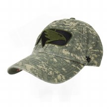 "UNIVERSITY OF NORTH DAKOTA FIGHTING HAWKS ""SEATS FOR SOLDIER"" OHT HAT"