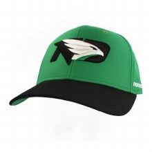 UNIVERSITY OF NORTH DAKOTA FIGHTING HAWKS STRUCTURED FLEX HAT