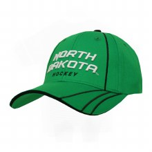 UNIVERSITY OF NORTH DAKOTA HOCKEY STRIPES HAT