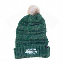 UNIVERSITY OF NORTH DAKOTA HOCKEY WOMENS VERTIGO KNIT