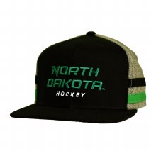 UNIVERSITY OF NORTH DAKOTA HOCKEY FLAT BRIM SNAP SHOT