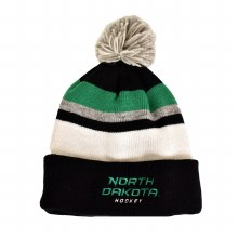 UNIVERSITY OF NORTH DAKOTA HOCKEY CCM STRIPE POM KNIT