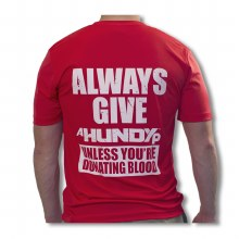 ALWAYS GIVE PERFORMANCE TEE