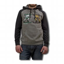 8-BIT BRAWL HOODED SWEATSHIRT