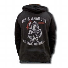 ICE & ANARCHY HOODED SWEATSHIRT
