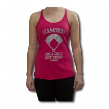 DIAMOND FRIENDS LADIES TANK