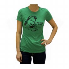 LADIES TALK HOCKEY TEE