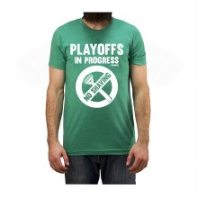 PLAYOFFS IN PROGRESS TEE