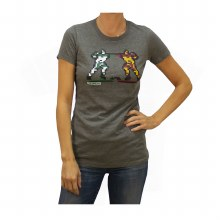 LADIES 8-BIT BRAWL TEE