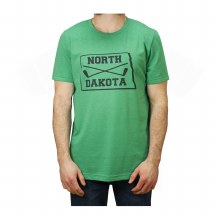 NORTH DAKOTA STICKS TEE