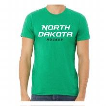 UNIVERSITY OF NORTH DAKOTA HOCKEY TEXT TEE