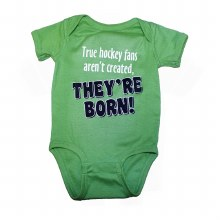 HOCKEY FANS ARE BORN ONSIE