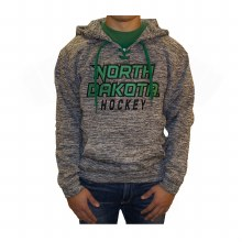 UNIVERSITY OF NORTH DAKOTA HOCKEY ELECTRIC LACE HOOD