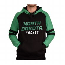 UNIVERSITY OF NORTH DAKOTA HOCKEY RAGLAN STRIPE HOOD