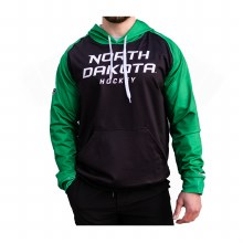UNIVERSITY OF NORTH DAKOTA HOCKEY SILKY KELLY SLEEVE HOODIE