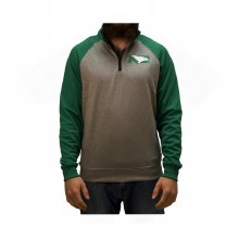 UNIVERSITY OF NORTH DAKOTA FIGHTING HAWKS CONTRAST 1/4 ZIP