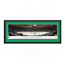 FIGHTING SIOUX HOCKEY V. MINNESOTA GOPHERS PANORAMIC FRAMED & MATTED PHOTO CAPTURED 12/07
