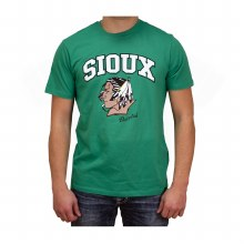 UNIVERSITY OF NORTH DAKOTA FIGHTING SIOUX AARON DELL ALUMNI PLAYER TEE - ADULT