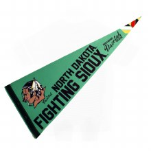 UNIVERSITY OF NORTH DAKOTA FIGHTING SIOUX SOLID PENNANT