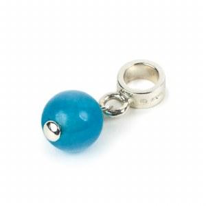 Blue Silver Charm