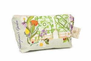 Shakespeare's Garden Makeup Bag