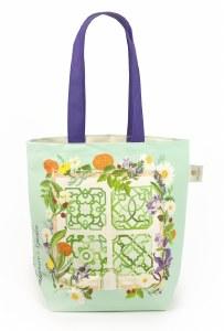 Shakespeare's Garden Canvas Bag