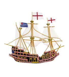 Kings Ship Decoration