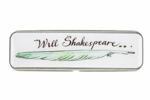 Will Shakespeare Pencil Tin