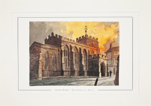 Paul Braddon Mounted Print of The Guild Chapel
