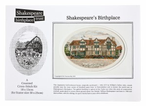 Cross Stitch Kit Shakespeare's Birthplace
