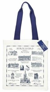 Stratford-upon-Avon Heritage Canvas Bag