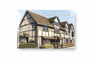 Shakespeare's Birthplace Photo Magnet