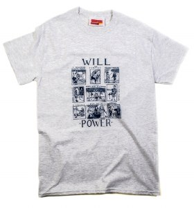 Will Power T-Shirt in Ash (Large)