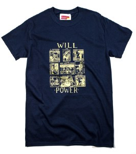 Will Power T-Shirt in Navy (XXL)