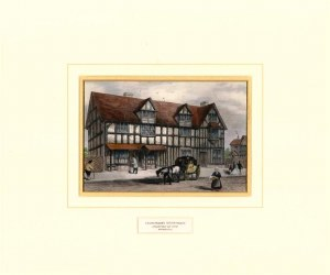 Shakespeare's Birthplace (print)