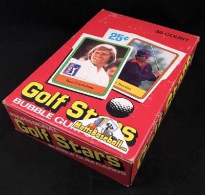 1981 DONRUSS GOLF WAX BOX