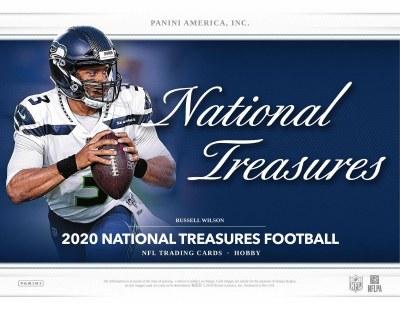 2020 PANINI NATIONAL TREAS FB