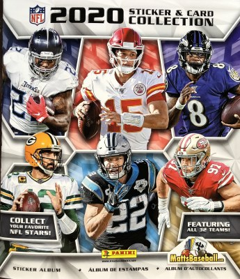 2020 PANINI NFL STICKER ALBUM