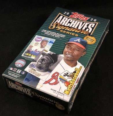 2020 TOPPS ARCHIVES SIGN RPE